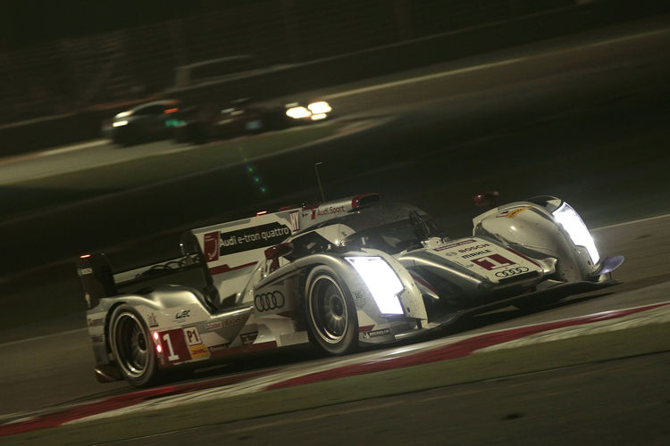 World Champions Audi second in Bahrain