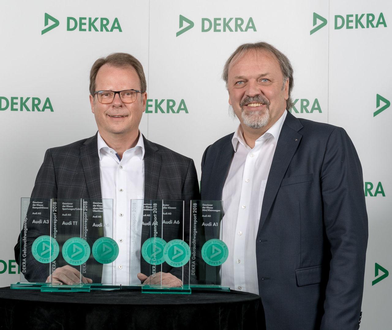 Audi top brand in  ||DEKRA Used Car Report 2018