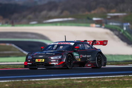 DTM Test Vallelunga 2018