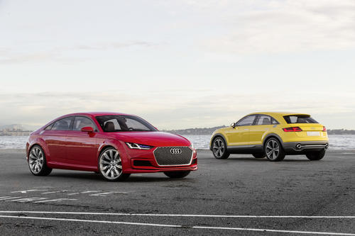 Audi TT Sportback concept, Audi TT offroad concept