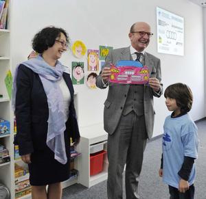 Audi fördert erste deutsch-italienische Schule in Bayern