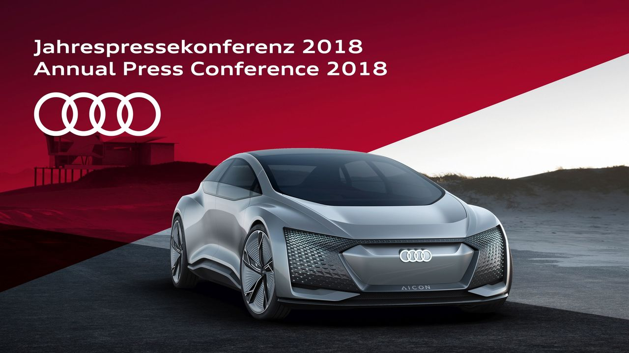 Save the date: ||Live streaming of the Audi Annual Press Conference