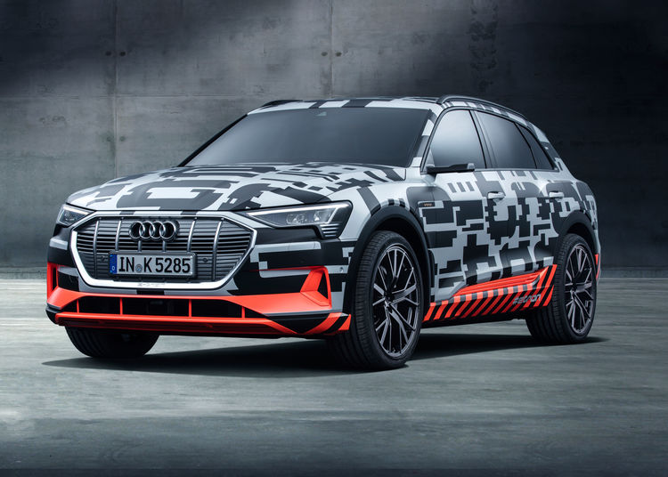 Audi Etron Prototype Preview Of The First Purely Electrically - Audi company latest models
