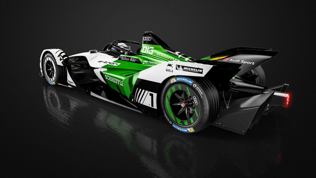 Formula E Audi E Tron Fe05 Ready For First Laps Audi