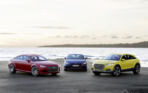 Audi TT Sporback concept, Audi TT Coupé, Audi TT offroad concept