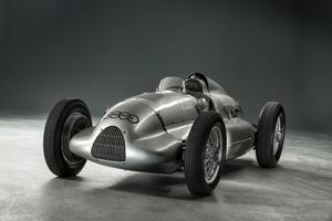 Three Audi jubilees at Techno Classica