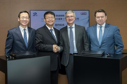 Audi restructures business in China with FAW