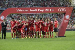 Der FC Bayern München gewinnt den Audi Cup 2013
