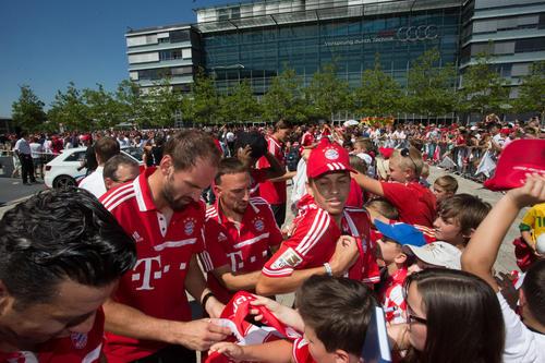 Tom Starke (links), Franck Ribéry