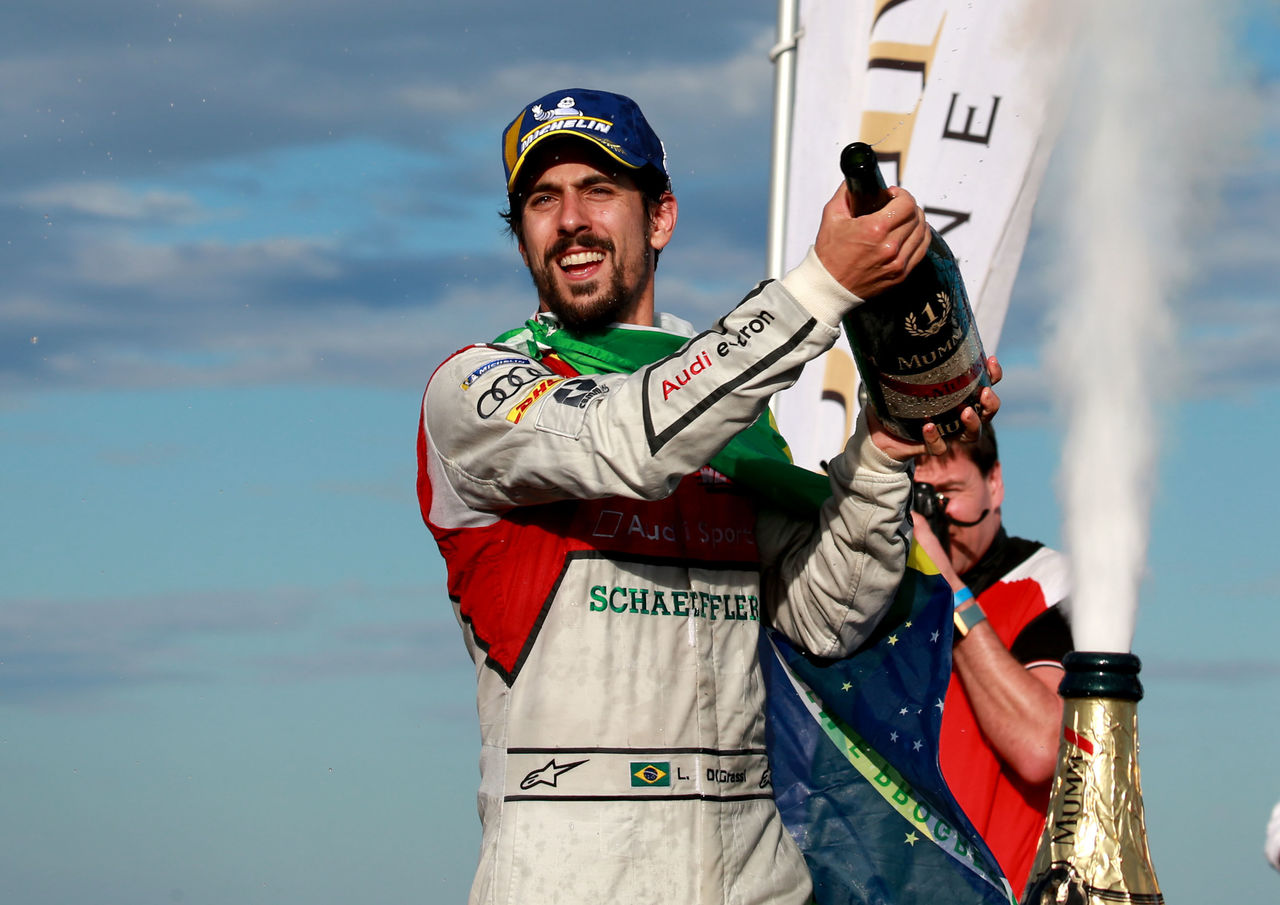 Champion Lucas di Grassi back on the podium