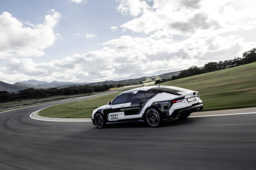 Audi piloted driving @ the limit – Ascari 2014
