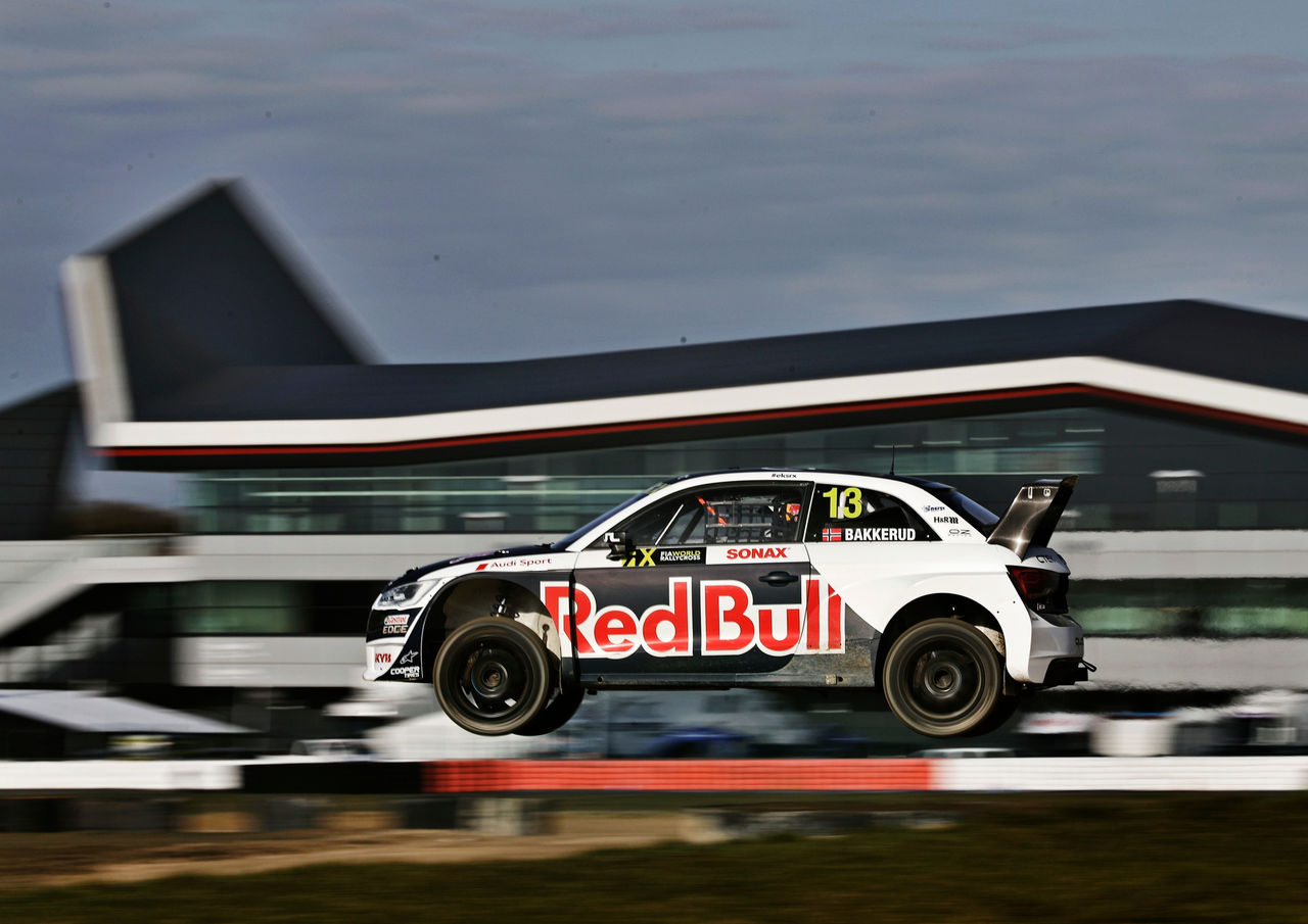 World RX: Audi Sport gives wings to EKS