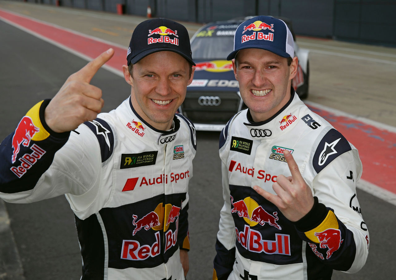 Rallycross: EKS Audi Sport starts in the Spanish sun