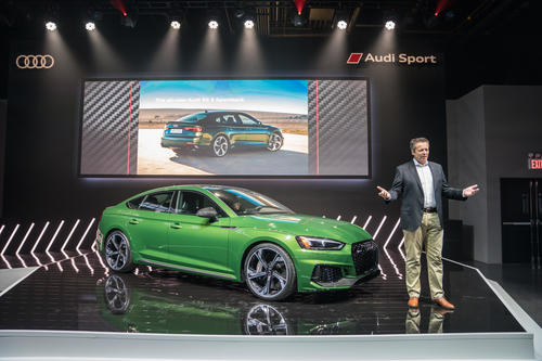 Audi RS 5 Sportback Weltpremiere