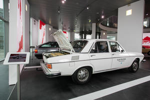 """""""From 0 to 100"""" at Audi museum mobile"""