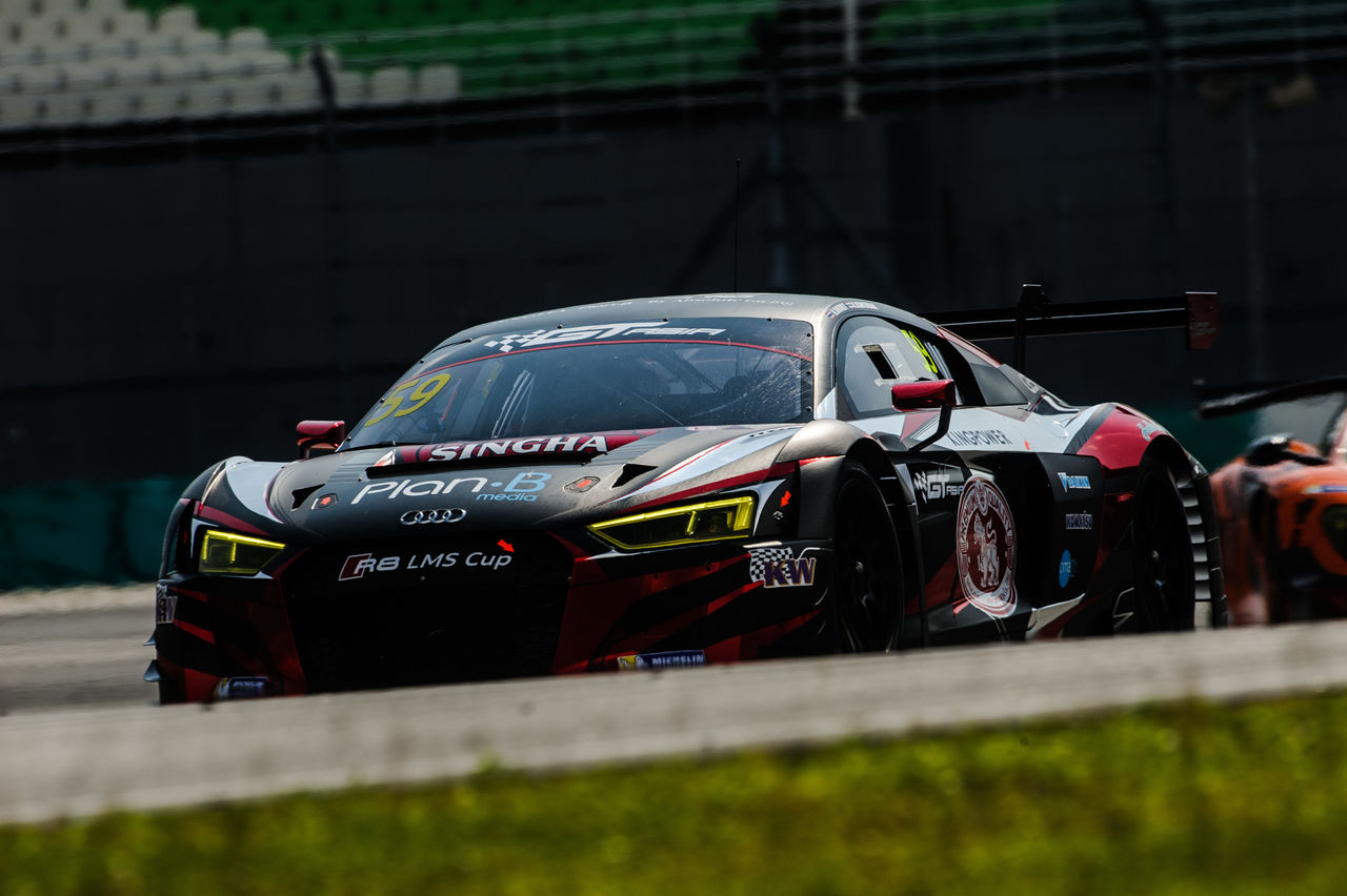 Audi R8 LMS wins GT Asia Series opening event