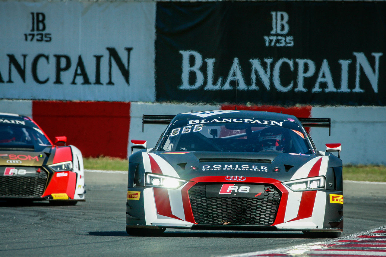New Audi Sport customer team celebrates debut victory