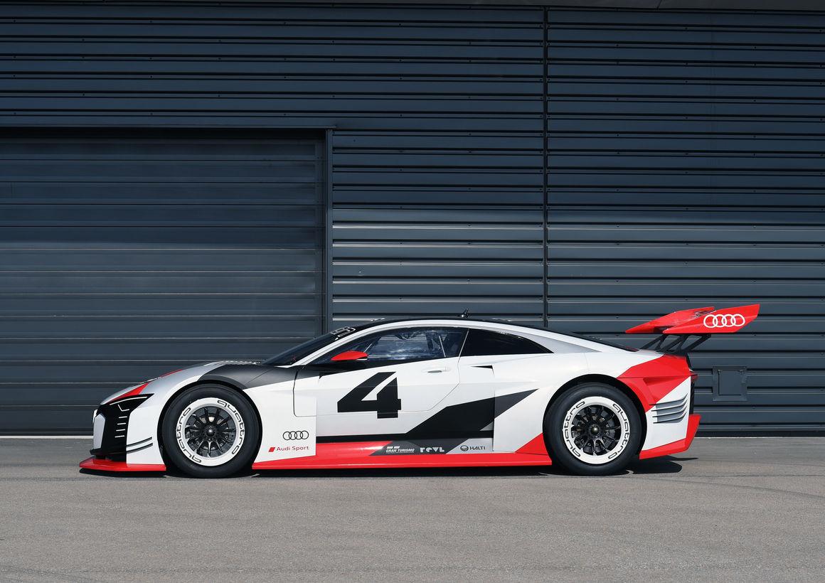 Attractive Audi E Tron Vision Gran Turismo