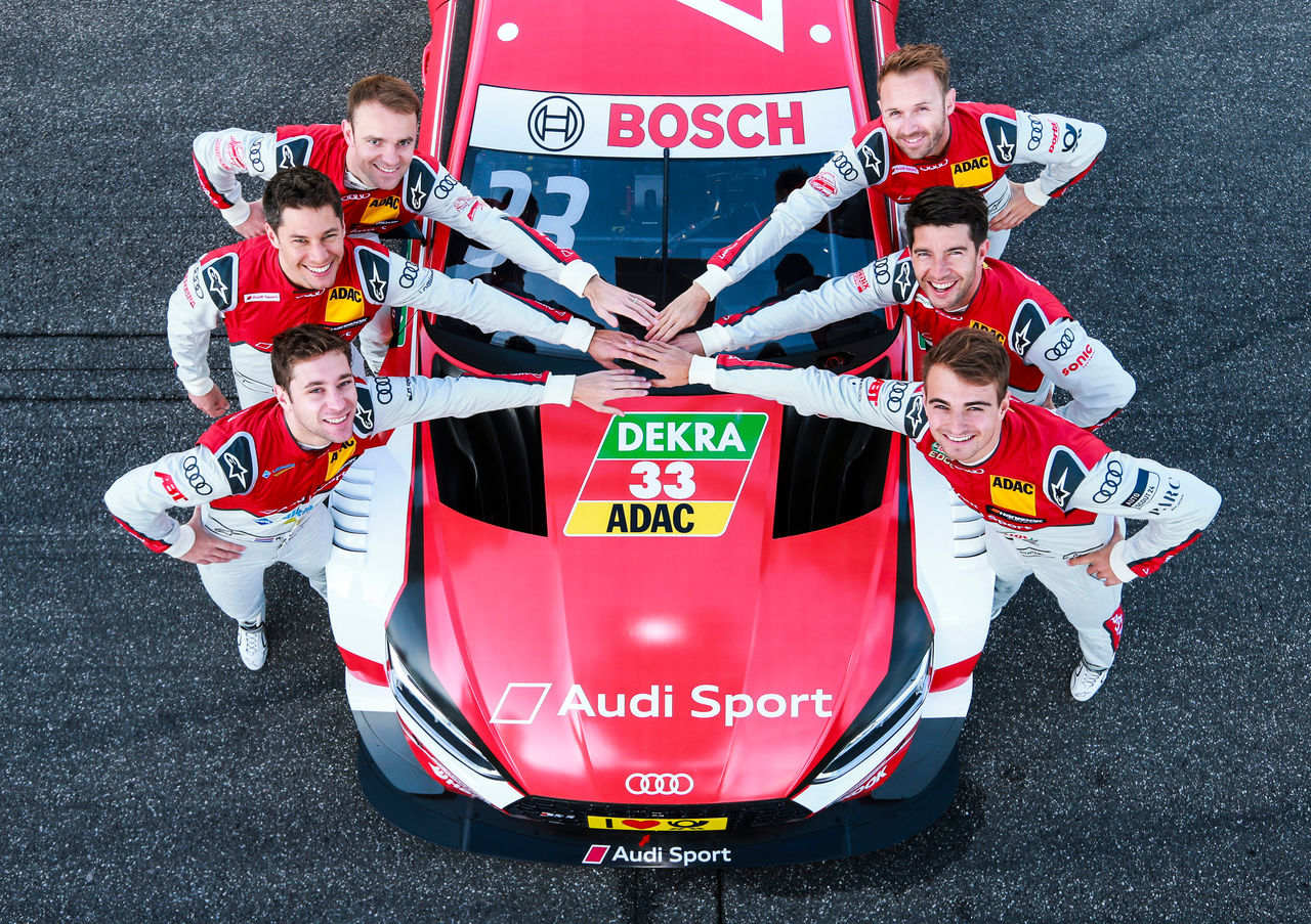 DTM rookie Frijns impresses in Audi RS 5 DTM