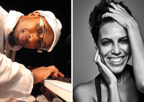 """Jazz im Audi Forum Ingolstadt:  Marialy Pacheco und Omar Sosa mit """"Duets"""""""