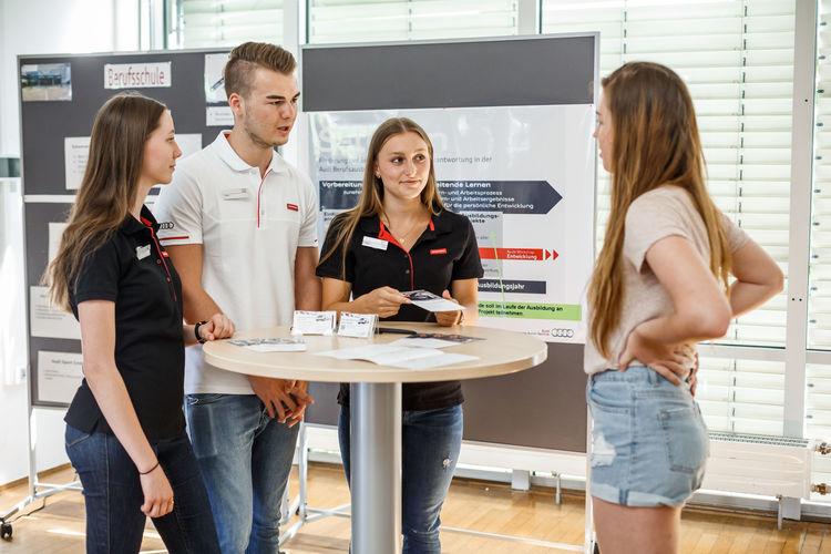 Start bei Audi: Berufsinformationstag am Standort Neckarsulm