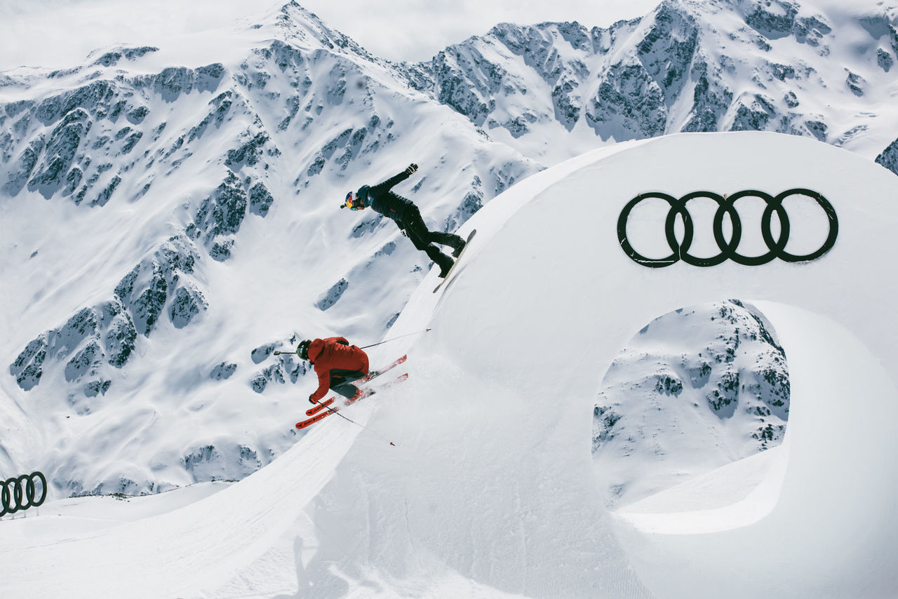 Audi Nines Presented By Falken Ski And Snowboard Freestyle Event
