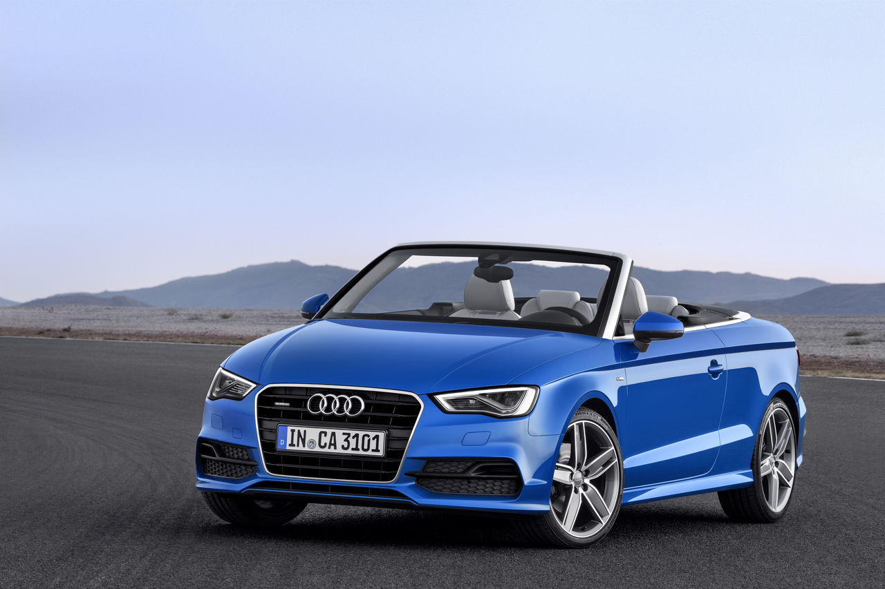 Sporty Elegant And Compact The New Audi A3 Cabriolet Audi Mediacenter