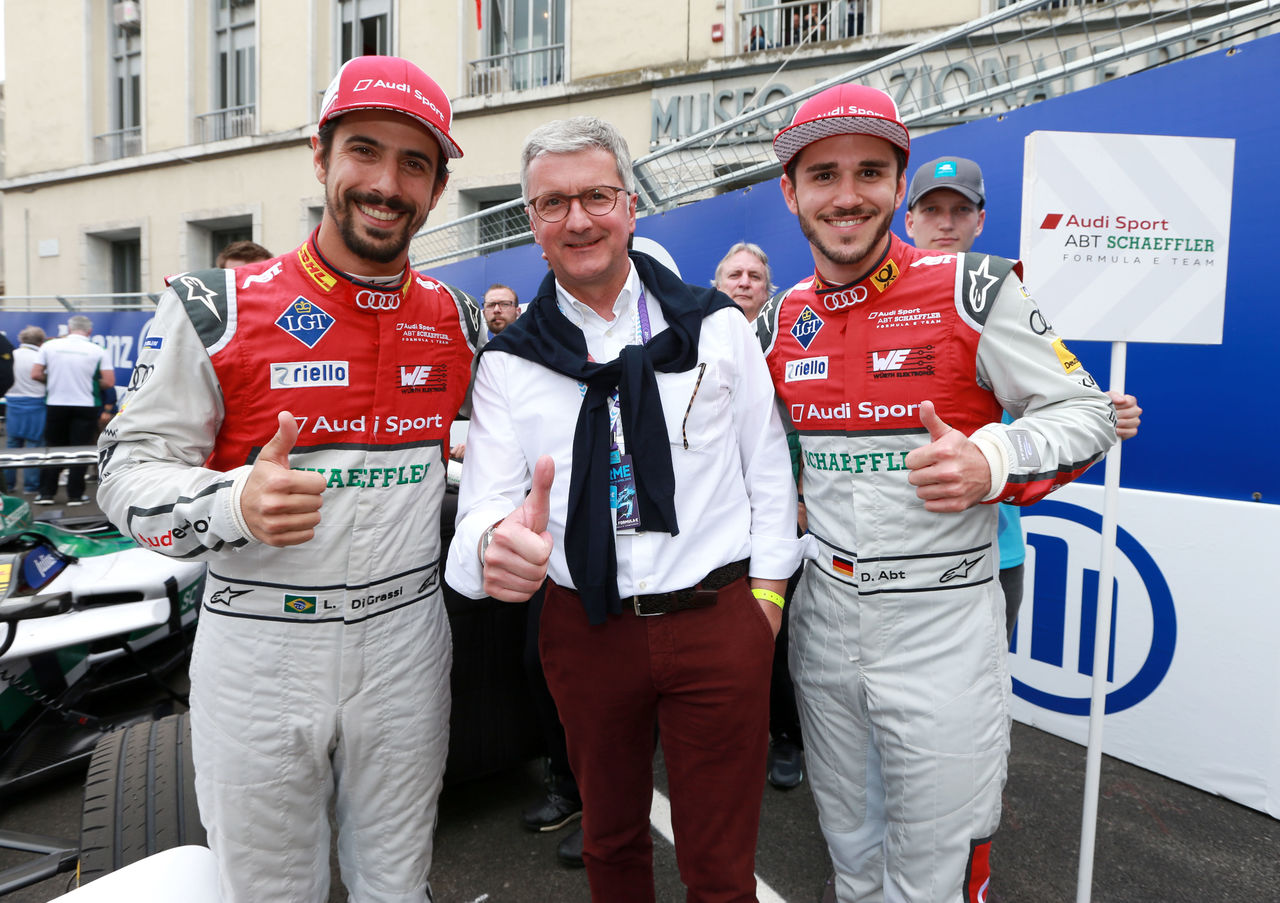 Successful Formula E premiere for Audi in Rome