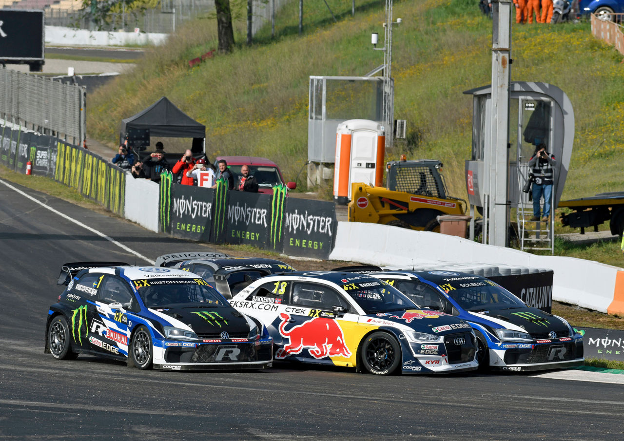 Rallycross: podium for EKS Audi Sport in season opener