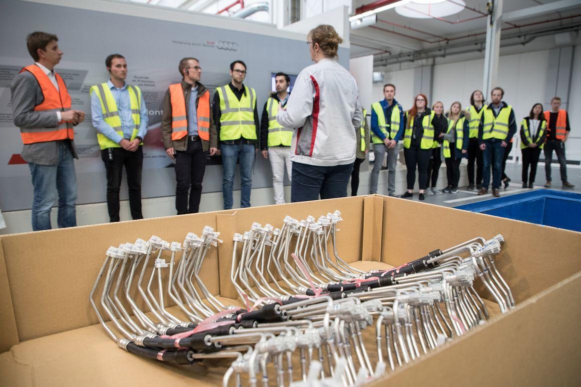 """Ständig in Bewegung: """"Tag der Logistik"""" bei Audi"""
