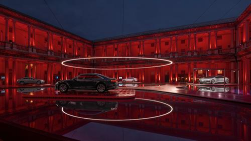 "Audi presents installation ""Fifth Ring"" of MAD Architects at Milan Design Week"