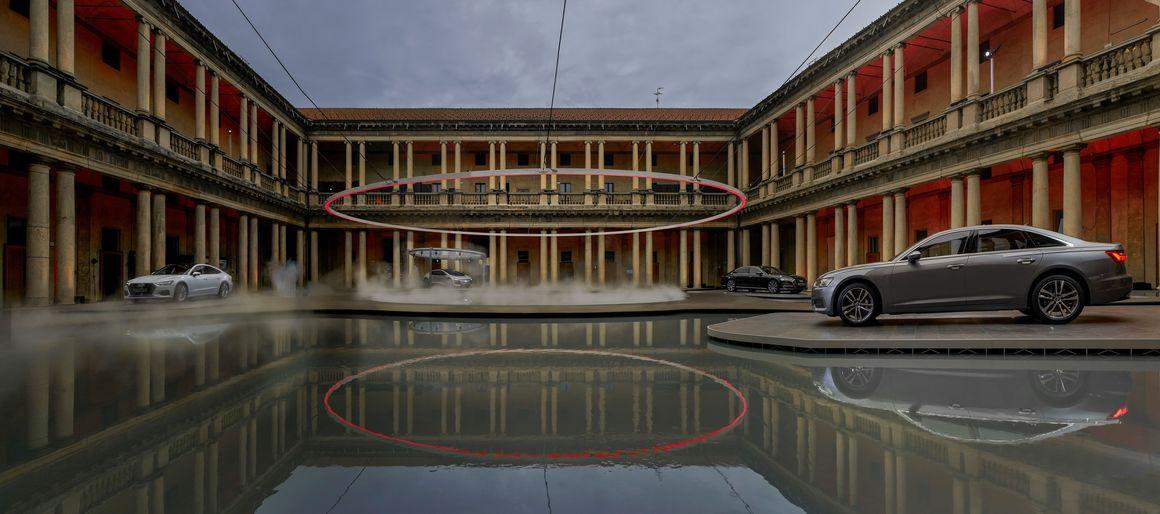 """Audi präsentiert Installation """"Fifth Ring"""" von MAD Architects auf Milan Design Week"""