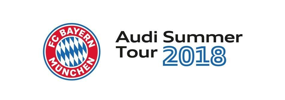 Audi presents FC Bayern München on a pre-season tour