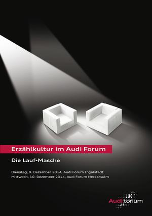 Audi.torium - Die Lauf-Masche