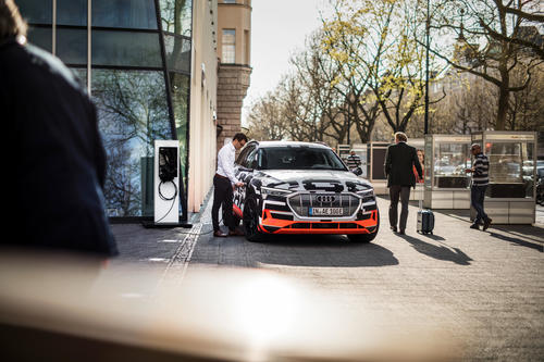 Audi e-tron prototype: Audi City Berlin