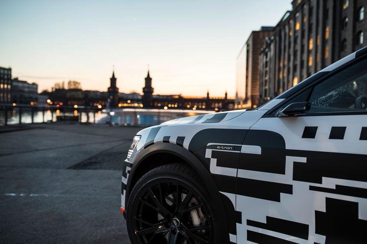 The Audi e-tron Prototype in Berlin