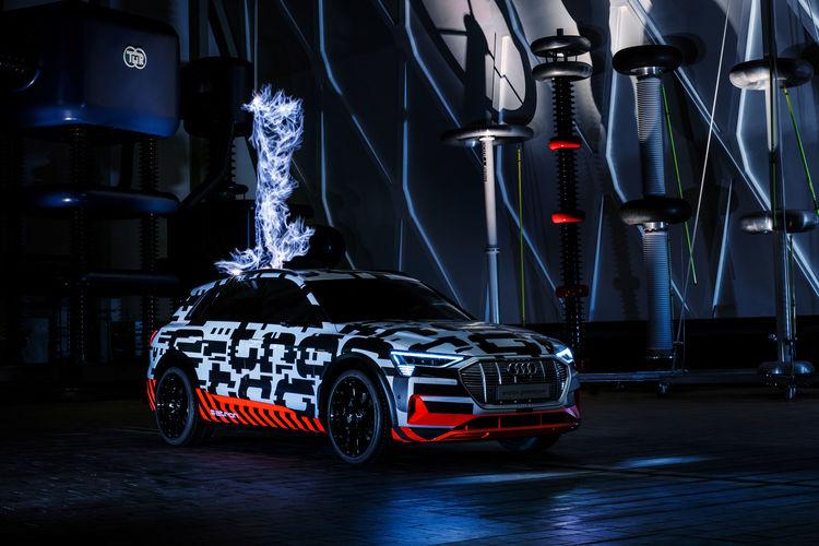 Audi E Tron Extreme High Voltage At Siemens Schaltwerk Berlin