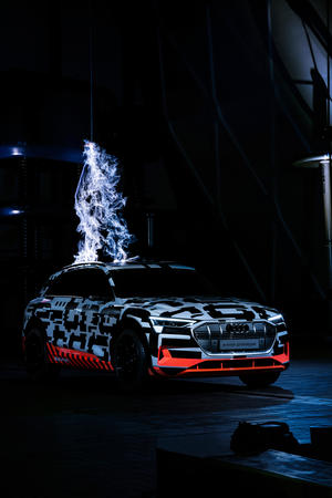 Audi e-tron extreme: High-Voltage at Siemens Schaltwerk Berlin