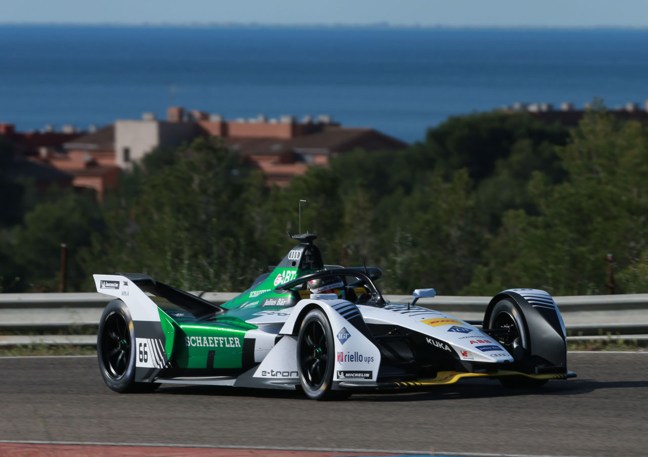 Daniel Abt's first stint in new Audi e-tron FE05