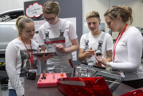 Girls' Day bei Audi 2018