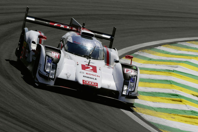 Second row of the grid for Audi in WEC finale