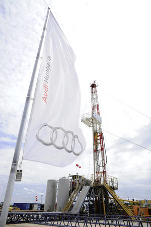 Audi Hungaria: energy efficiency through supply of geothermal heat