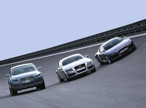 Audi Pikes Peak quattro / Audi Nuvolari quattro / Audi Le Mans quattro