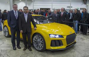 Rekordbeschäftigung bei Audi