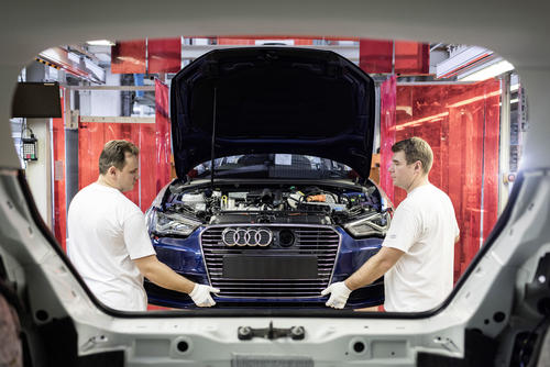 Audi site in Ingolstadt