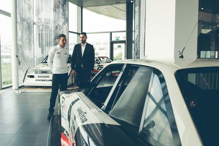 Andreas Bakkerud @ Audi