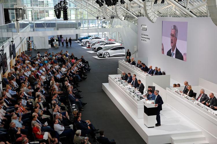 129. Ordentliche Hauptversammlung der AUDI AG am 9. Mai 2018 in Ingolstadt.