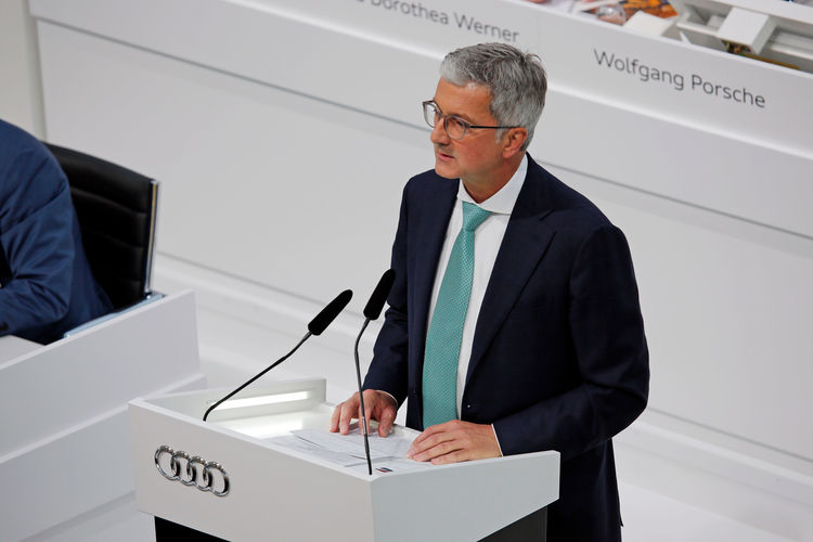 129th Annual General Meeting of AUDI AG on May 9, 2018, at Ingolstadt.