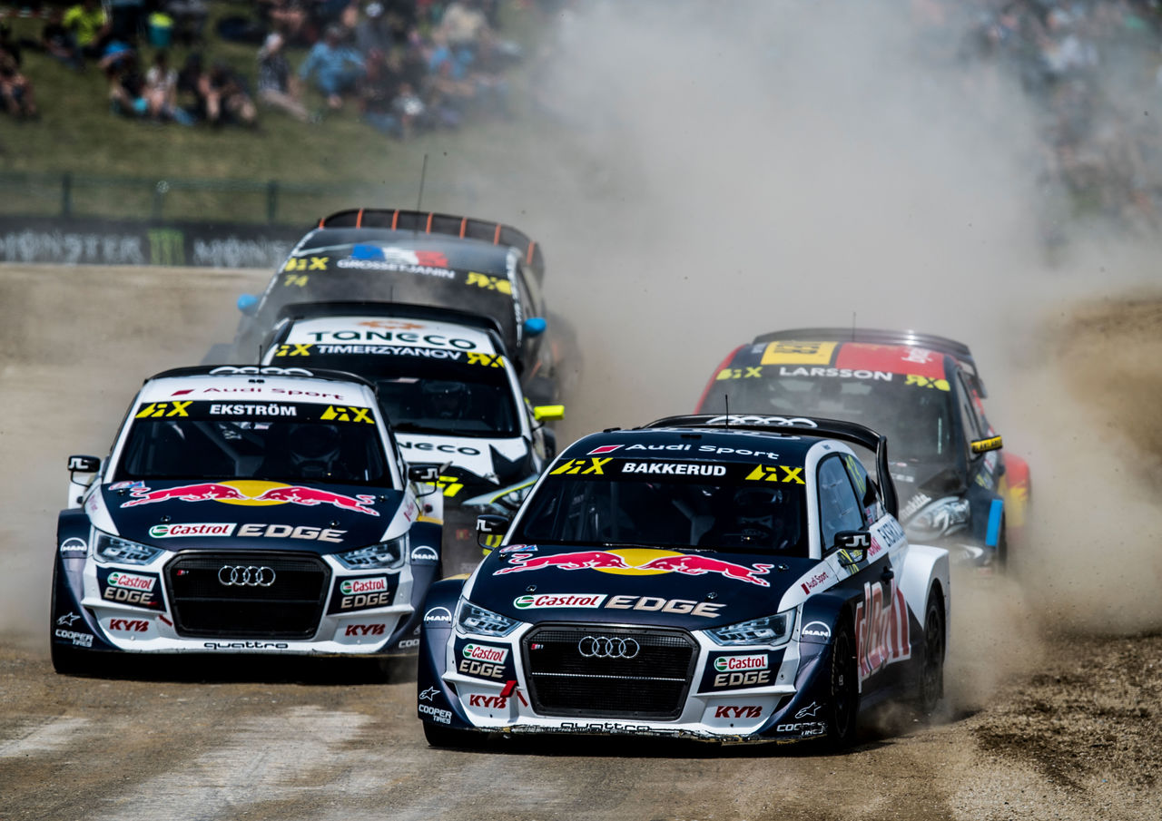 Rallycross: mixed feelings at EKS Audi Sport in Belgium