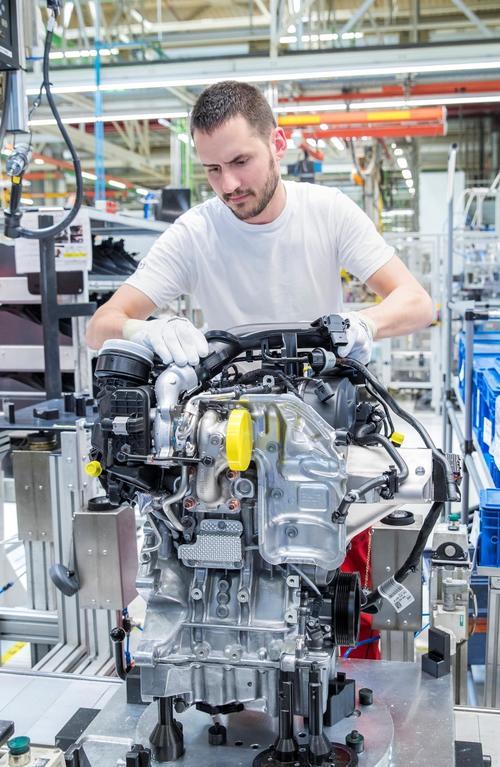 Neue Motorenfamilie bei Audi Hungaria